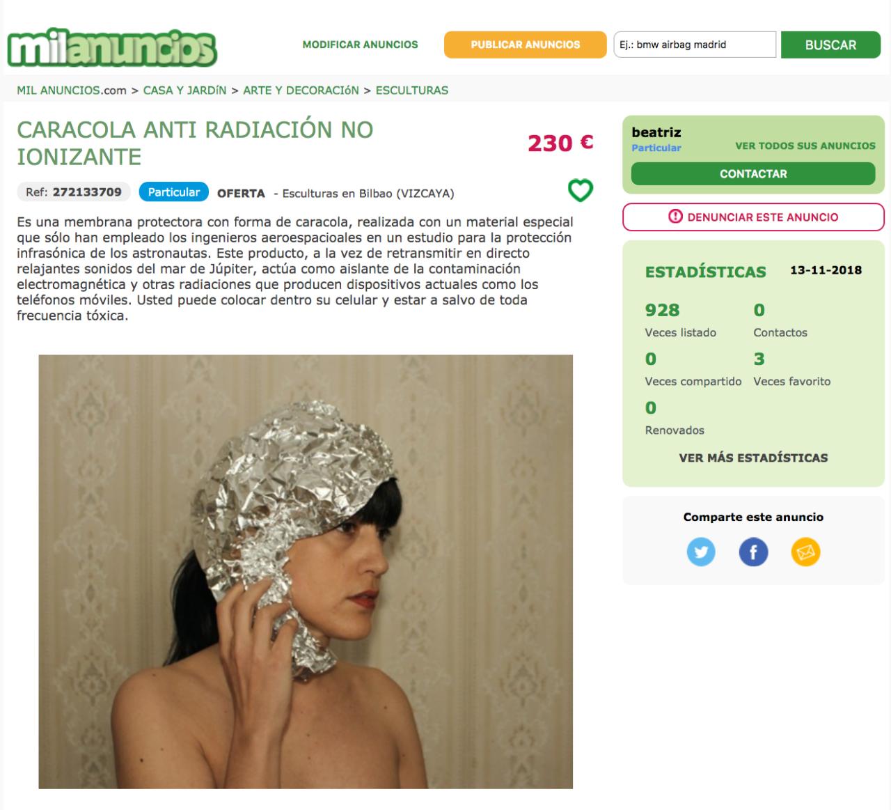 Beatriz Sánchez Tienda Online